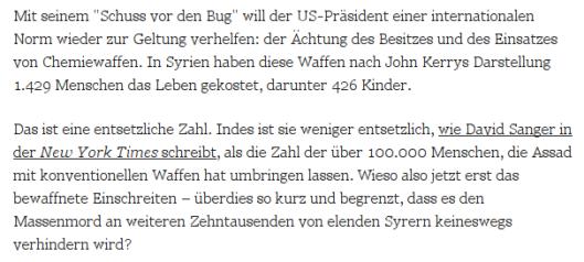 Theo Sommer lügt auf Zeit.de