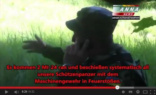 Youtube-Video des Vorfalls mit deutschen Untertiteln