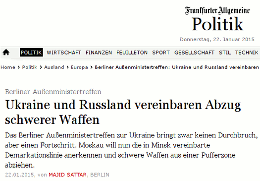 FAZ_22.1.15_Waffenabzug_Ostukraine