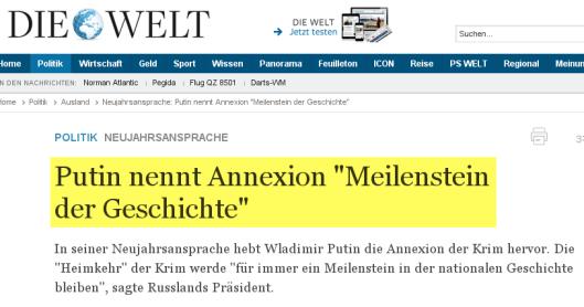WELT_Putin_Neujahr_Krim