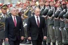 Russlands Präsident Vladimir Putin während eines Staatsbesuchs in Österreich am 24. Juni 2014 (Offizielles russisches Regierungsphoto