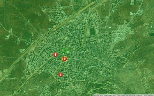 Ariha_Syria_Map