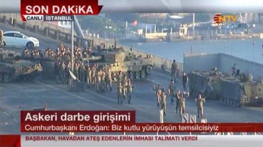 Bosphorus Bridge Coup