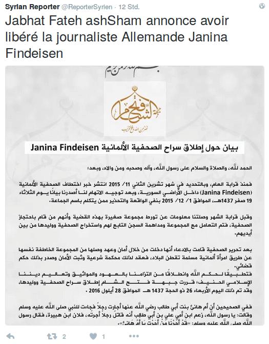 syrian_reporter_findeisen_tweet525