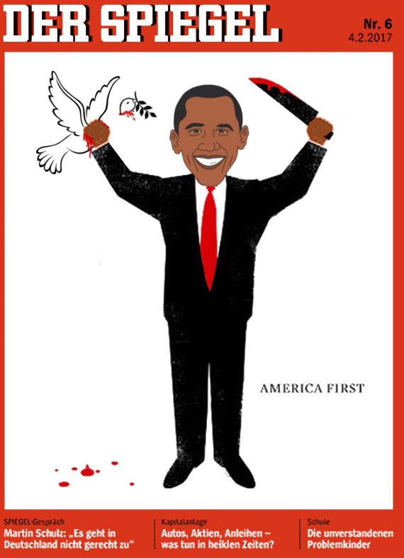 America first die propagandaschau for Spiegel 52 2017